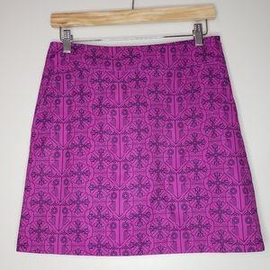 Annika Cutter & Buck Purple Size 2 Golf Skort